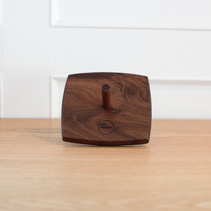 DVD WALNUT SINGLE HOLDER
