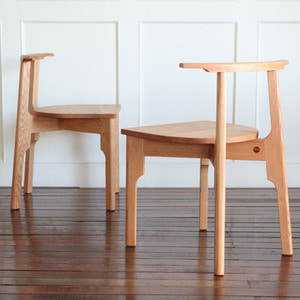 OAK CHAIR X - 2ea